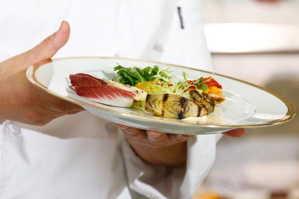 Salad「Golden Globes Menu/Table Preview At The Beverly Hilton」:写真・画像(14)[壁紙.com]