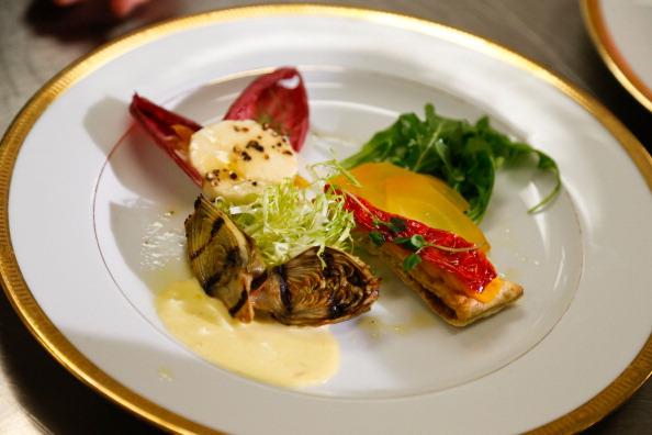 Salad「Golden Globes Menu/Table Preview At The Beverly Hilton」:写真・画像(13)[壁紙.com]
