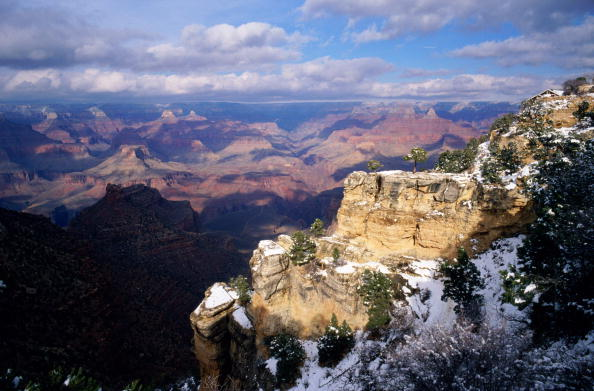Horizontal「Grand Canyon In Winter」:写真・画像(13)[壁紙.com]