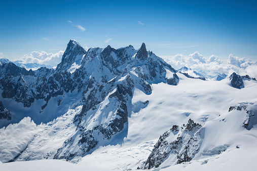 Chamonix「View of the Alps from Aiguille du midi, Chamonix, France」:スマホ壁紙(12)
