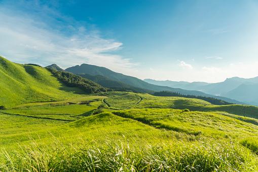 Japanese Culture「View of the Plateau,Soni Kougen in Japan」:スマホ壁紙(7)