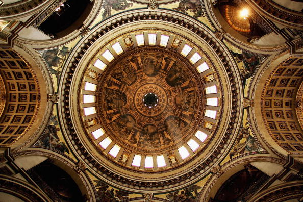 Architectural Dome「Newly Restored Interior Of St Paul's Cathedral Revealed」:写真・画像(11)[壁紙.com]