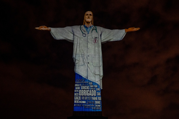 Thank You - Phrase「Act of Consecration of Brazil and Tribute to Medical Workers at the Christ the Redeemer Amidst the Coronavirus (COVID - 19) Pandemic」:写真・画像(17)[壁紙.com]