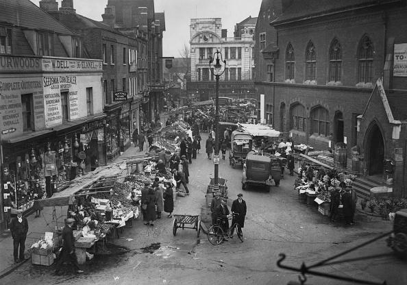 Douglas Miller「Bromley Market」:写真・画像(16)[壁紙.com]