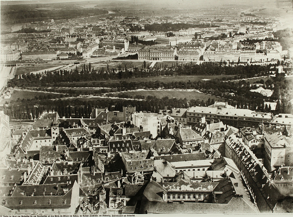 Old Town「Seen From The Vienna Stephansdomturm From」:写真・画像(14)[壁紙.com]