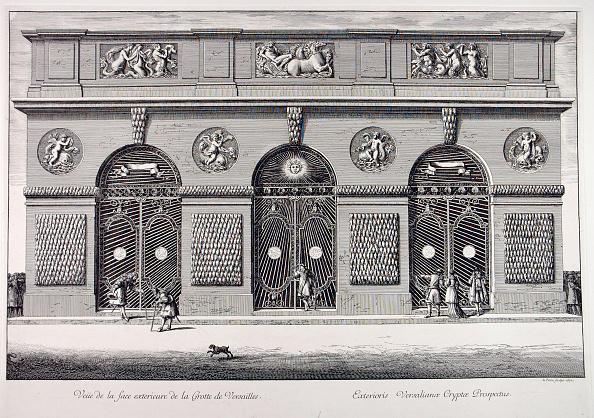世界遺産「View Of The Exterior Façade Of The Thetys Grotto Of Versailles」:写真・画像(19)[壁紙.com]