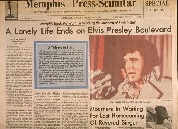 Death「Headlines After Elvis' Death」:写真・画像(10)[壁紙.com]
