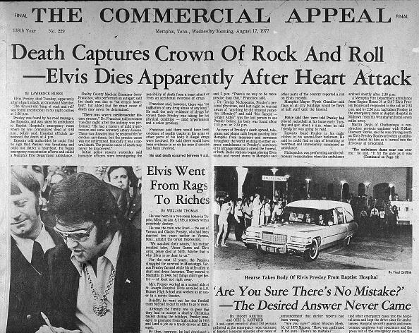 Death「Headlines After Elvis' Death」:写真・画像(6)[壁紙.com]