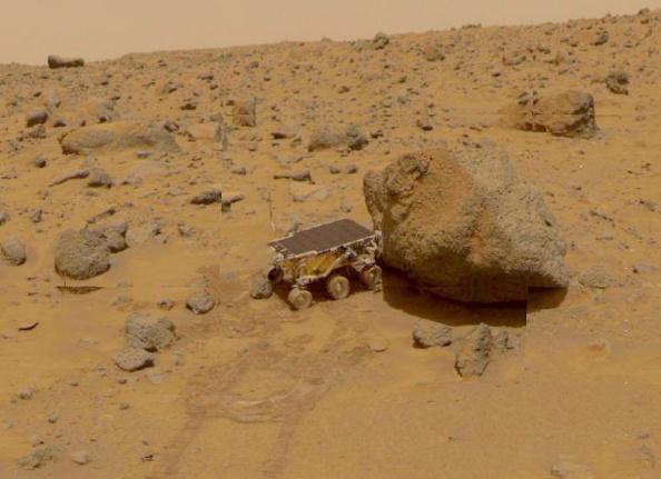 Planet - Space「NASA Pathfinder Sojourner Rover On Mars」:写真・画像(12)[壁紙.com]