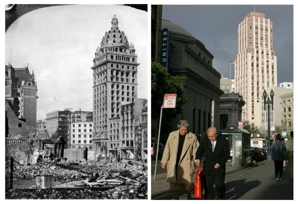 San Francisco - California「The 1906 San Francisco Earthquake: Then And Now」:写真・画像(14)[壁紙.com]