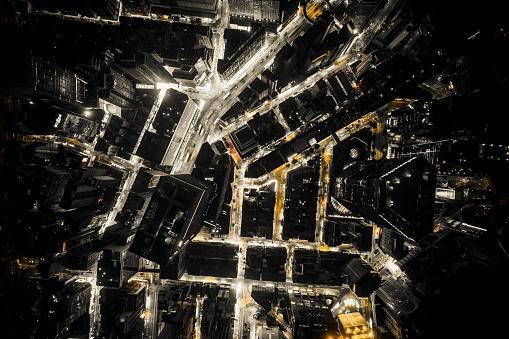 島「夜の香港の眺め」:スマホ壁紙(5)