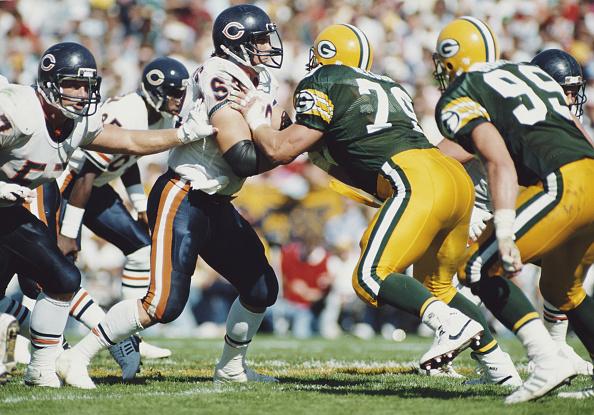 Defensive Lineman - American Football Player「Green Bay Packers vs Chicago Bears」:写真・画像(5)[壁紙.com]