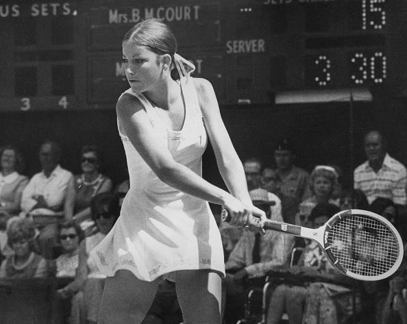 テニス「Chris Evert V Margaret Court」:写真・画像(15)[壁紙.com]