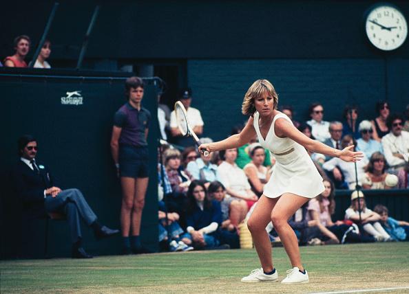 Chris Evert「Evert At Wimbledon」:写真・画像(5)[壁紙.com]