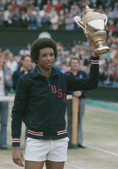 Wimbledon Lawn Tennis Championships「Arthur Ashe Wins Wimbledon」:写真・画像(9)[壁紙.com]