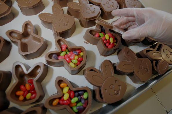 Baby Rabbit「Candy Company Makes Chocolate Easter Bunnies」:写真・画像(11)[壁紙.com]
