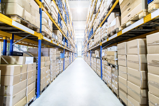 Information Medium「Large & modern warehouse」:スマホ壁紙(14)