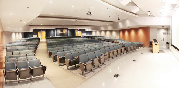 Lecture Hall「Large Modern University Lecture Hall Seats」:スマホ壁紙(18)