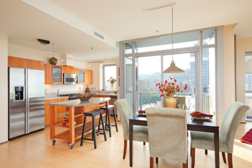 Breakfast Room「Kitchen in High rise Condominium」:スマホ壁紙(12)