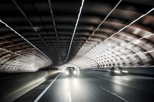 Tunnel「Melbourne city link street tunnel at night」:スマホ壁紙(4)