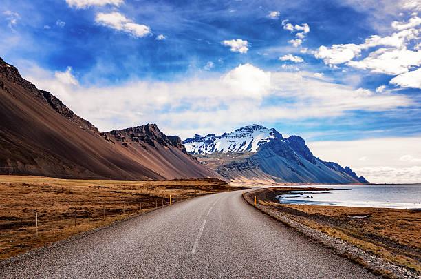 Iceland, Highway 1 near Hofn:スマホ壁紙(壁紙.com)