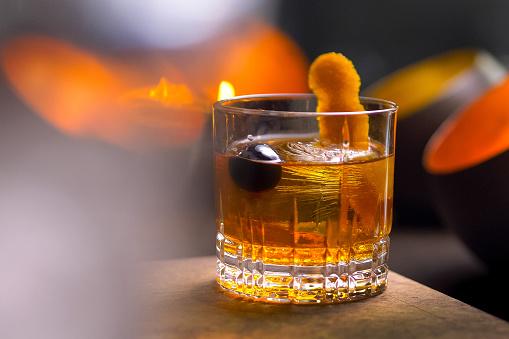 Brandy「Classic Prohibition Manhattan Cocktail」:スマホ壁紙(13)