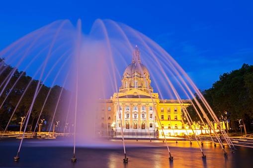 Edmonton「Canada, Alberta, Edmonton, Alberta Legislative Building」:スマホ壁紙(6)