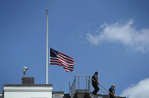 Orlando - Florida「President Obama Makes Statement On Mass Shooting In Orlando At White House」:写真・画像(11)[壁紙.com]