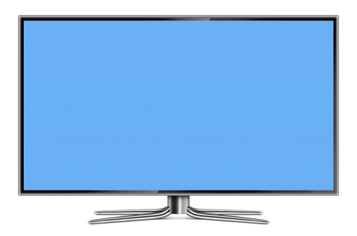 Clipping Path「Flat Screen LCD Television」:スマホ壁紙(7)