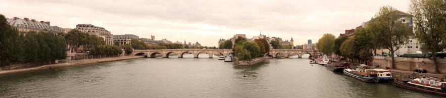 Unrecognizable Person「Pont Neuf, Paris」:スマホ壁紙(7)