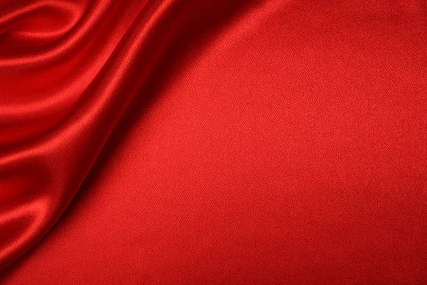Red Silk Background:スマホ壁紙(壁紙.com)