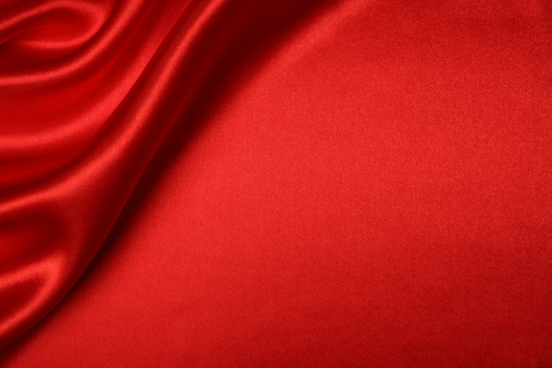 Satin「Red Silk Background」:スマホ壁紙(1)