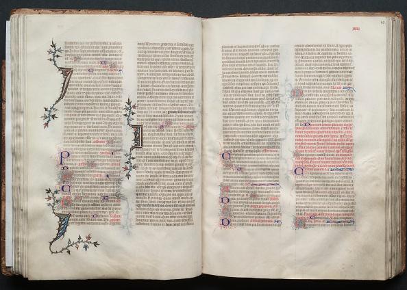 Circa 14th Century「The Gotha Missal: Fol. 42V」:写真・画像(8)[壁紙.com]
