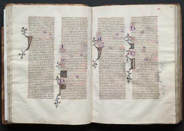 Circa 14th Century「The Gotha Missal: Fol. 32V」:写真・画像(11)[壁紙.com]