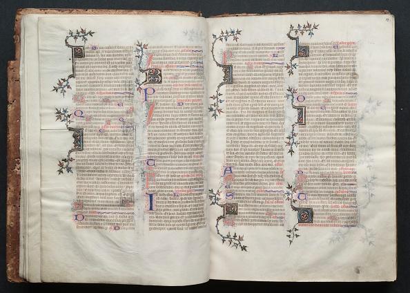 Circa 14th Century「The Gotha Missal: Fol. 13R」:写真・画像(9)[壁紙.com]
