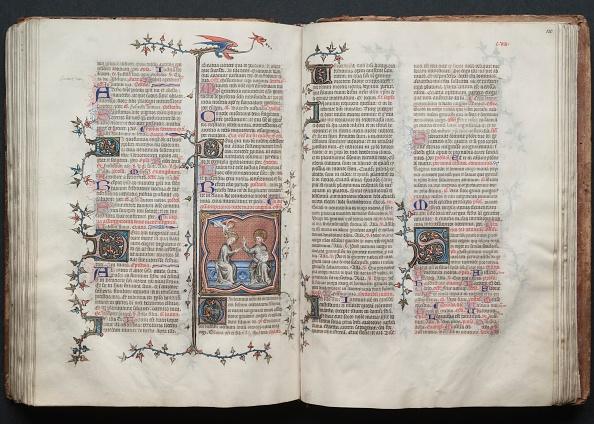 Circa 14th Century「The Gotha Missal: Fol. 119V」:写真・画像(4)[壁紙.com]