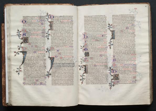 Circa 14th Century「The Gotha Missal: Fol. 28R」:写真・画像(3)[壁紙.com]