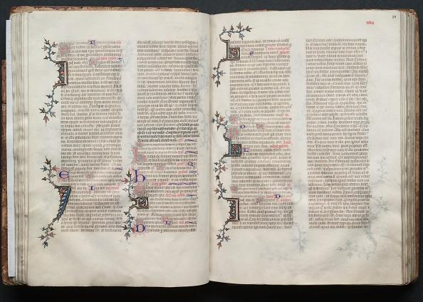 Circa 14th Century「The Gotha Missal: Fol. 37V」:写真・画像(6)[壁紙.com]