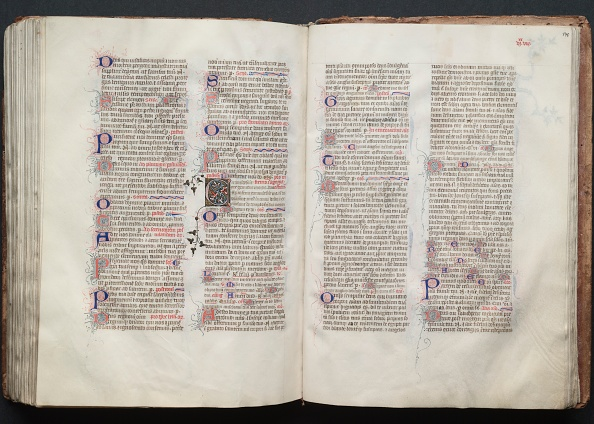 Circa 14th Century「The Gotha Missal: Fol. 139V」:写真・画像(5)[壁紙.com]