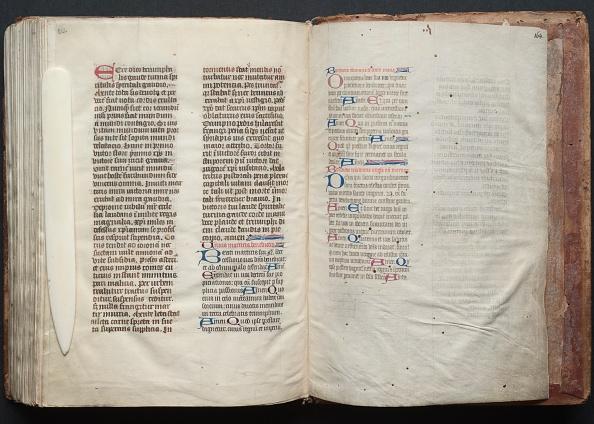 Circa 14th Century「The Gotha Missal: Fol. 164R」:写真・画像(4)[壁紙.com]