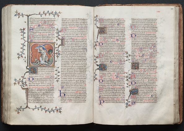 Circa 14th Century「The Gotha Missal: Fol. 125R」:写真・画像(12)[壁紙.com]