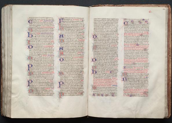 Circa 14th Century「The Gotha Missal: Fol. 141V」:写真・画像(6)[壁紙.com]