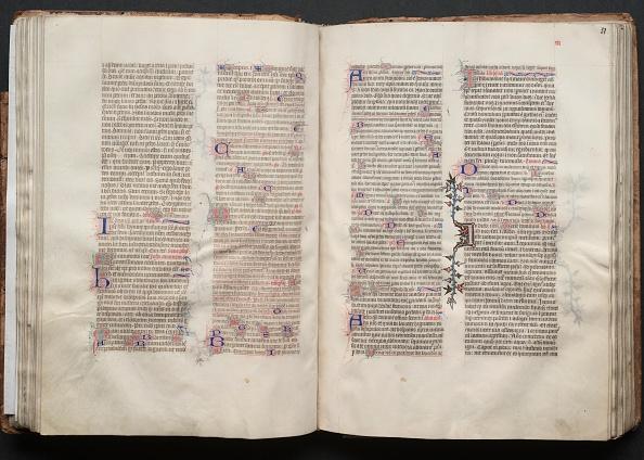 Circa 14th Century「The Gotha Missal: Fol. 51R」:写真・画像(0)[壁紙.com]