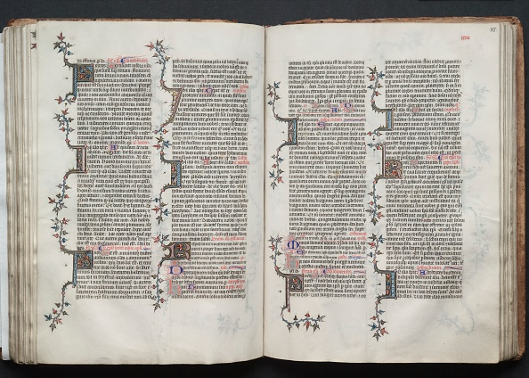 Circa 14th Century「The Gotha Missal: Fol. 84V」:写真・画像(17)[壁紙.com]