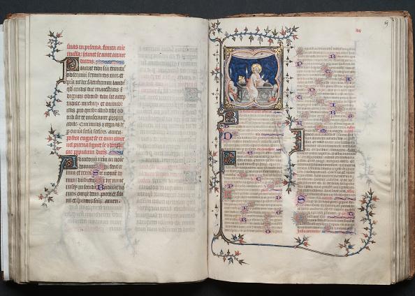 Circa 14th Century「The Gotha Missal: Fol. 69R」:写真・画像(13)[壁紙.com]