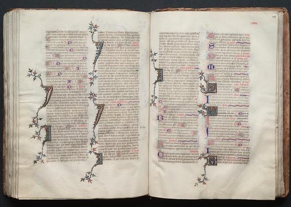 Circa 14th Century「The Gotha Missal: Fol. 130R」:写真・画像(2)[壁紙.com]