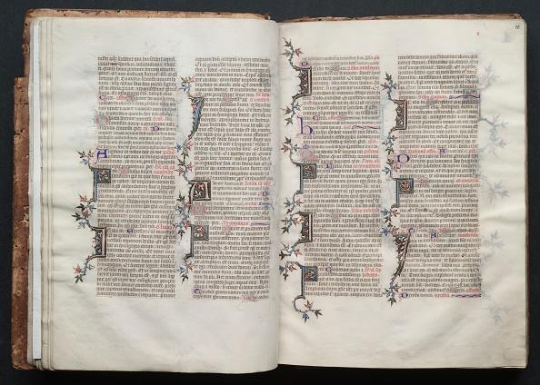 Circa 14th Century「The Gotha Missal: Fol. 20R」:写真・画像(7)[壁紙.com]