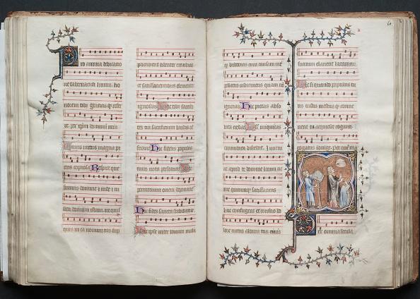 Circa 14th Century「The Gotha Missal: Fol. 60V」:写真・画像(15)[壁紙.com]