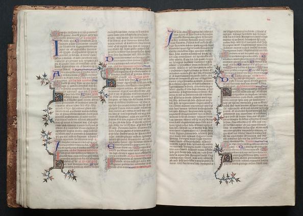 Circa 14th Century「The Gotha Missal: Fol. 13V」:写真・画像(3)[壁紙.com]