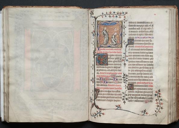 Circa 14th Century「The Gotha Missal: Fol. 65R」:写真・画像(8)[壁紙.com]